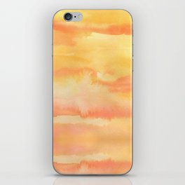 Apricot Sunset iPhone Skin