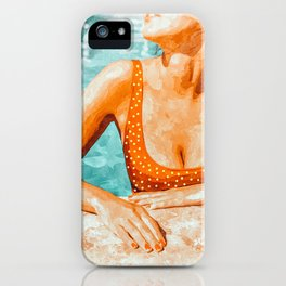 Mi Bebida Por Favor #painting #summer iPhone Case