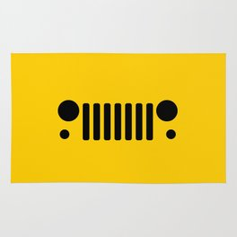 Jeep 'Yellow' Collection Rug