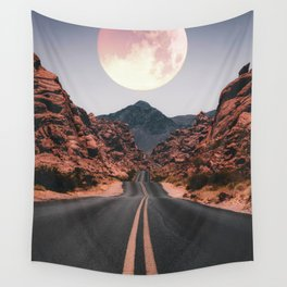 Mooned Wall Tapestry