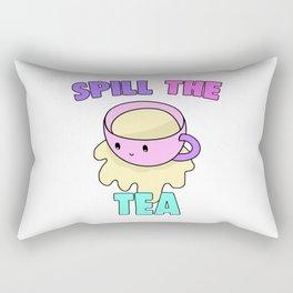 Spill The Tea Rectangular Pillow