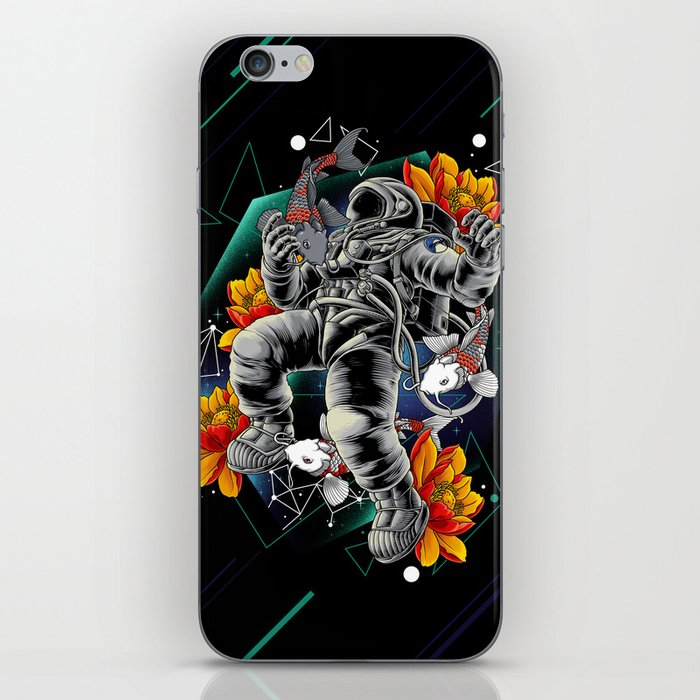 Lucky Spaceman iPhone Skin