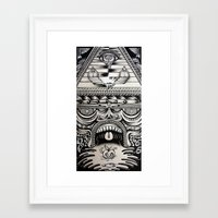 illuminati Framed Art Prints featuring Illuminati by Mike Friedrich