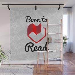 Born to Read II Wall Mural