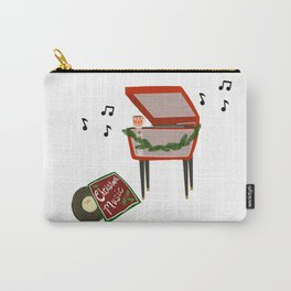 Coffee and Christmas Music Carry-All Pouch