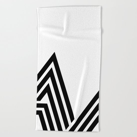 Hello V Beach Towel