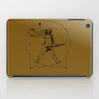 leonardo iPad Cases featuring leonardo guitar by sEndro