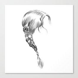 Katniss Canvas Print