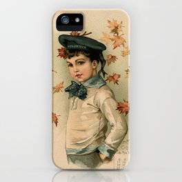 American Boy Maud Humphrey 1891 iPhone Case