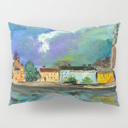 A Night of Color in Riga Pillow Sham