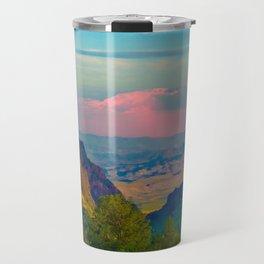 Chisos Mountain Park Big Bend Texas Travel Mug