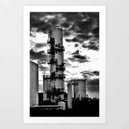 Dark Tower (small) Art Print