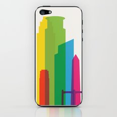 Shapes of Minneapolis iPhone & iPod Skin