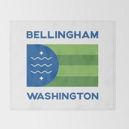 Bellingham, Washington Throw Blanket