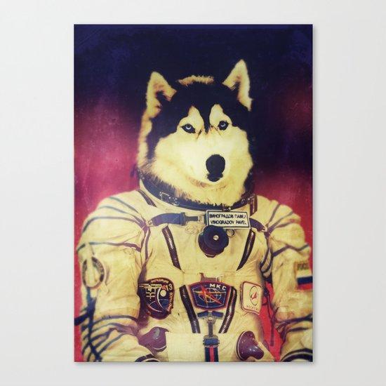Cosmonaut K9 Canvas Print