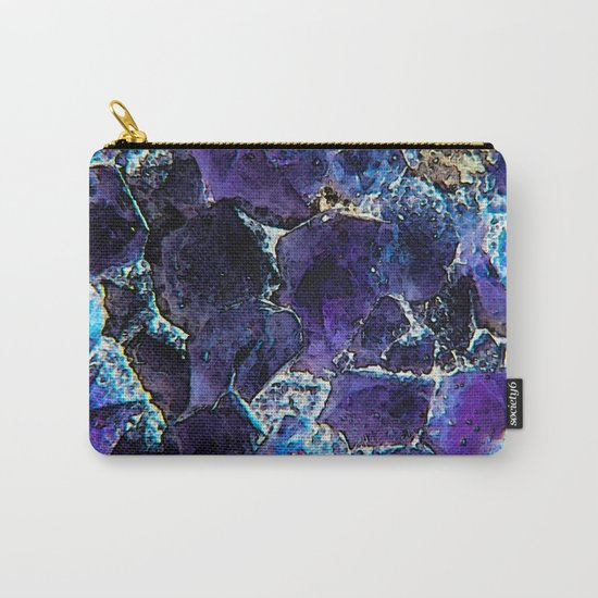 AMETHYST ABSTRACT Carry-All Pouch