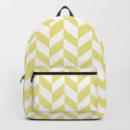 HERRINGBONE (KHAKI & WHITE) Backpack
