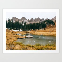 Gore Range – Rocky Mountains Art Print