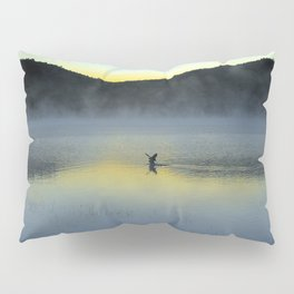 Perfect Landing (Sunrise, Lake George) Pillow Sham