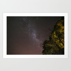 One night Art Print