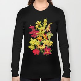 Orchids - Hot Colors! Long Sleeve T-shirt