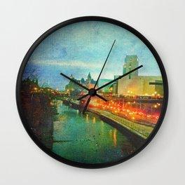 Where He Tarries Wall Clock