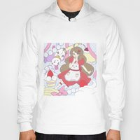 puppycat Hoodies featuring Bee & puppycat ver 1 by Kurodoj