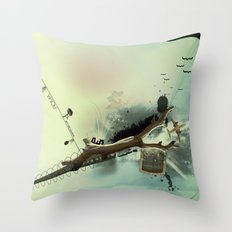 roma parco Throw Pillow
