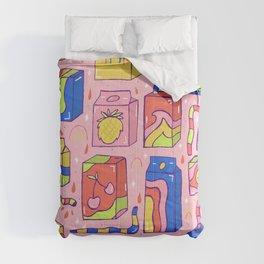 Juice Box Print Comforters