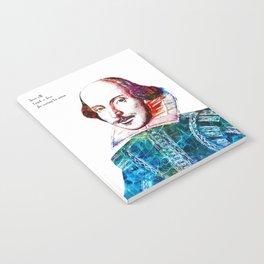 Graffitied Shakespeare Notebook