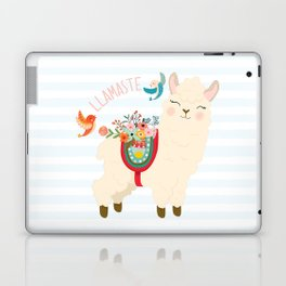 Llamaste - When A Llama Offers You A Respectful Greeting Laptop & iPad Skin