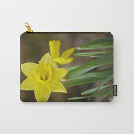 Daffodil Flower Carry-All Pouch