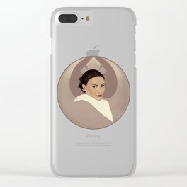 Padme Clear iPhone Case