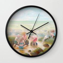 Rockpools Wall Clock