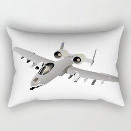American A-10 Warthog Jet Aircraft Rectangular Pillow