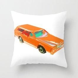 The Truckster Throw Pillow