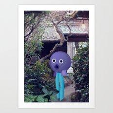 Testa a palla Art Print