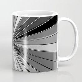 Color Burst IV (Black and White // Gray Scale) Coffee Mug