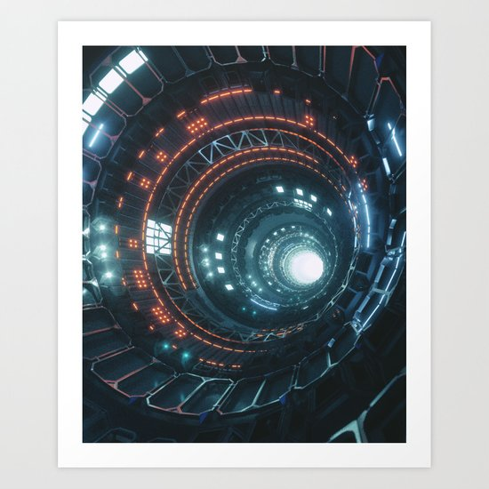 CORE9000 (everyday 01.17.17) Art Print