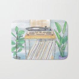 BossaNova Vinyl Day Bath Mat