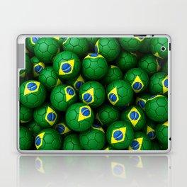 BRAZIL FOOTBALLS Laptop & iPad Skin