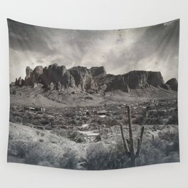 Superstition Mountain - Arizona Desert Wall Tapestry