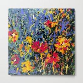 Floral Dream 1b by Kathy Morton Stanion Metal Print