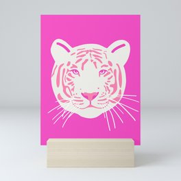 White Tiger Mini Art Print