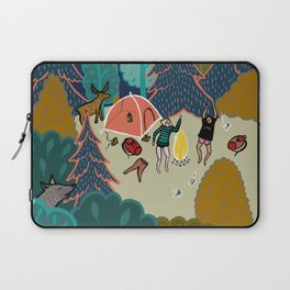 Welcome to Our Place in the Woods Laptop Sleeve