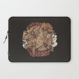 Flowers and Moths Laptop Sleeve