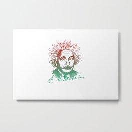 Einstein's Definition of Creativity Metal Print