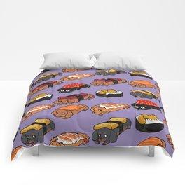 Sushi Daschunds Comforters