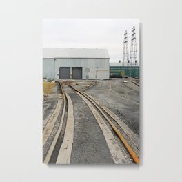 Worn Industry - color Metal Print