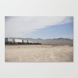 Vidal Train Crossing Canvas Print